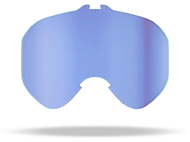 Bliz Edge Drop Reserve Double Lens, blue multi/light orange/blue multi